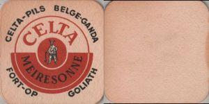 Bierdeckel quadratisch - Celta