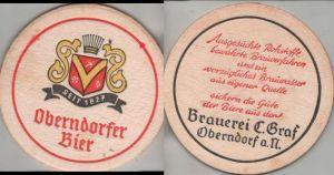 Bierdeckel rund - Oberndorfer Bier