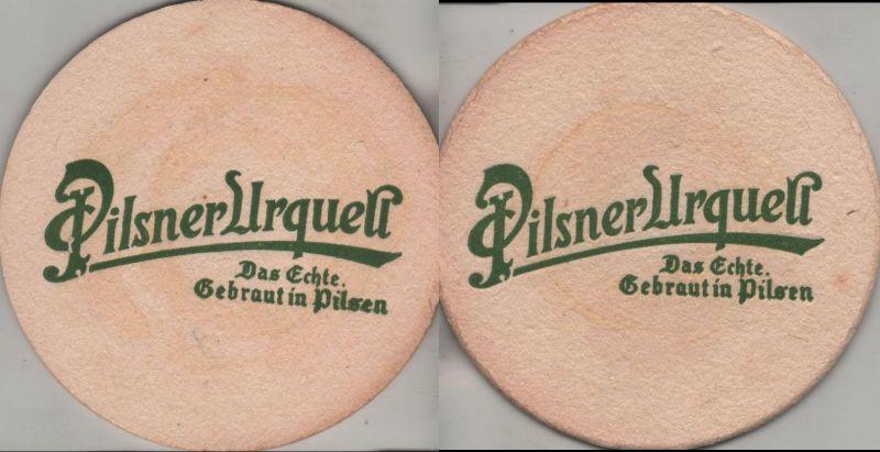 Bierdeckel rund - Pilsner Urquell