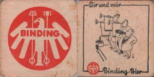 Bierdeckel quadratisch - Binding