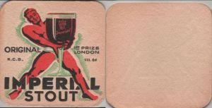 Bierdeckel quadratisch - Imperial Stout