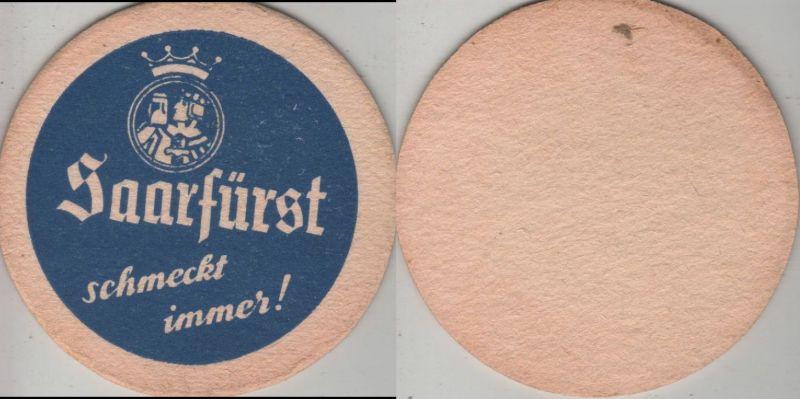 Bierdeckel rund - Saarfürst