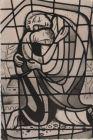 Wiesbach, Pfalz - Glasfenster in der Kapelle des Landheims