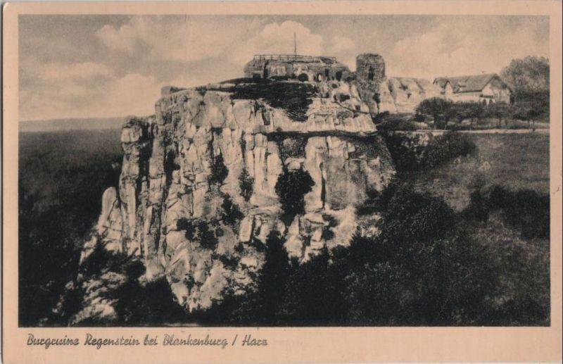 Blankenburg - Burgruine Regenstein