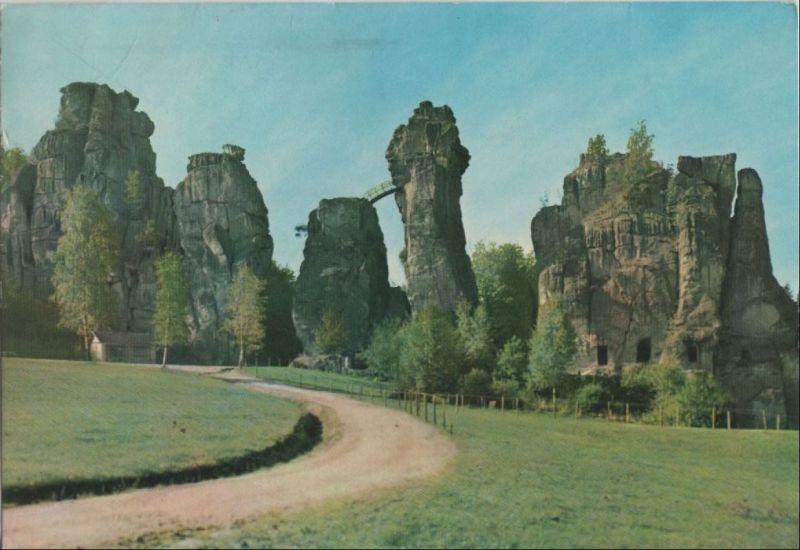 Horn-Bad Meinberg, Exeernsteine - Teutoburger Wald