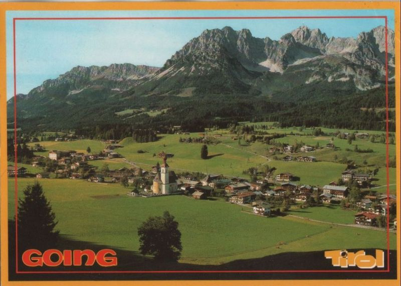 Österreich - Going - Österreich - Blick von oben