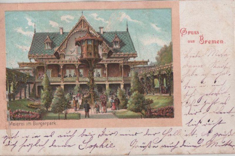 Bremen - Meierei im Bürgerpark 0