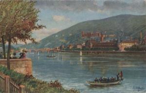 Heidelberg - Blick von der Neuenheimer Landstraße