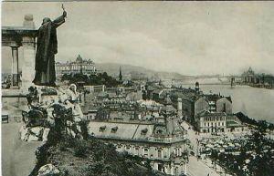 Budapest v.1928 Blick auf die Stadt (18127)