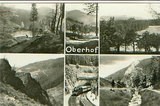 Oberhof v.1955 6 Ansichten (18298)