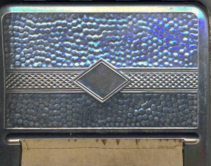 Zigarretten---Dreh-Stopf-   Box ca. von 1956