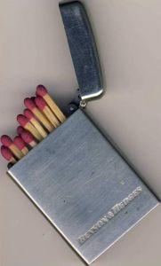 Zündholzhalter ca. von 1955 Benson & Hedges