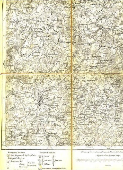 Landkarte - Hof von 1882  (28999-41)