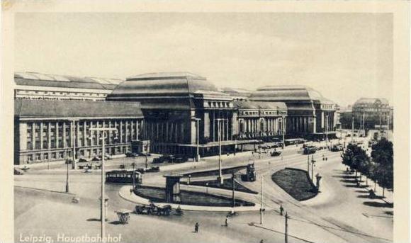 Leipzig v.1952 Hauptbahnhof (17082)