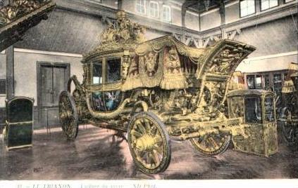 Le Trianon 1917 Kutsche in Gold (17168)