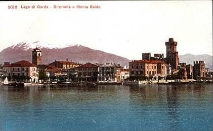 Lago di Garda v.1914 Monte Baldo (16300)