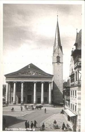 Dornbirn v.1939 Teil-Stadt-Ansicht (16333)