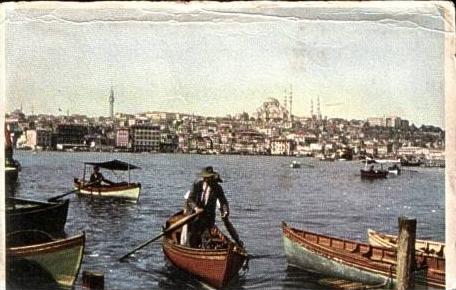 Istanbul v.1956 Teil-Stadt-Ansicht (16366)