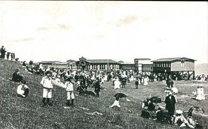 Cuxhaven v.1908 Conzert bei der Bade (16529)