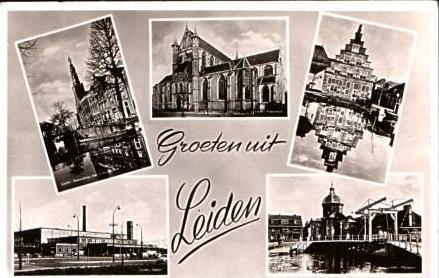 Leiden v.1957 5 Ansichten (16811)