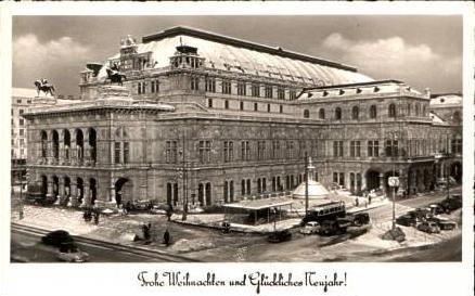 Wien v.1957 Stadt,--Frohe Weihnachten (16834)