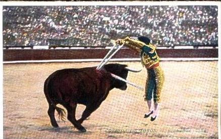 Corrida de Toros v.1929 siehe Foto !! (16840)