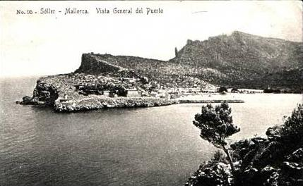 Mallorca v.1924 Teil-Insel-Ansicht (16849)