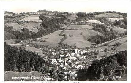 Ybbsitz v.1932 Dorfansicht (16881)