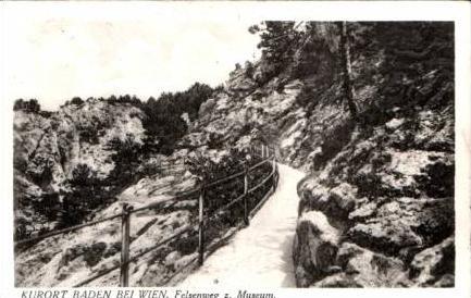 Baden bei Wien v.1931 Felsenweg (16887)