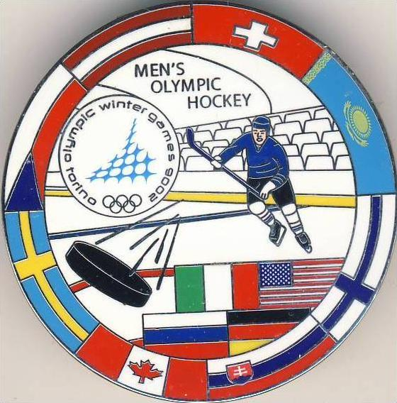 Eishockey --- Mens Olympic Hockey in Torino 2006 - siehe Foto & beschr. !!