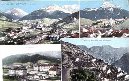 Eisenerz v.1918 4 Ansichten (16926)