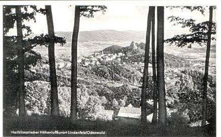 Lindesfels v.1959 Teil-Stadt-Ansicht (16965)