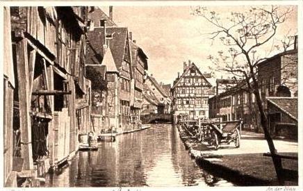 Ulm v.1924 An der Blau (16993)