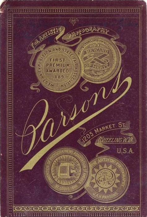 Parsons,1205 Market Street,Wheeling W.VA.,USA. (18)
