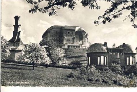 Dornach von 1950  Goetheanum---  siehe beschr. !! (36053)