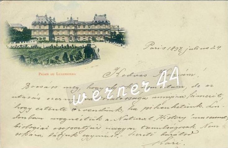 Paris v. 1897 Palais du Luxembourg ( 32731)