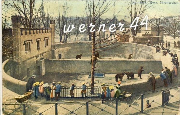 Bern v. 1925 Der Bärengraben ( 32760)