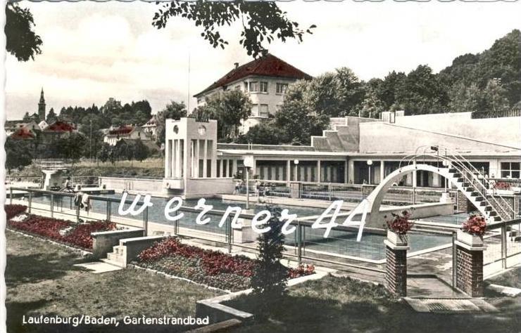 Laufenburg v. 1967 Gartenstrandbad ( 32776)