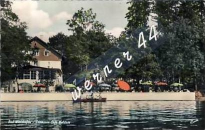 Bad Wörishofen v. 1961 Cafe Waldsee (27238)