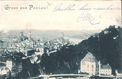 G. a. Passau v.1905 Teil-Stadt-Ansicht (15039)