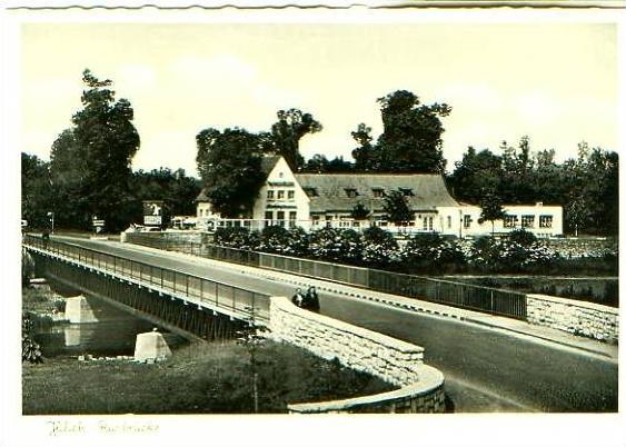 Jülich v.1959 Gaststätte & Rurbrücke (21588)