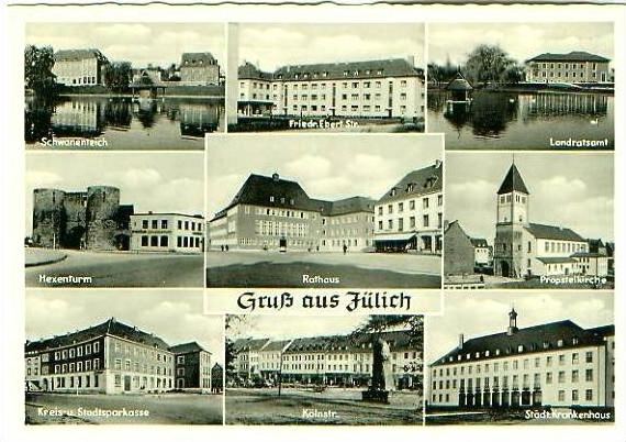 Jülich v.1959 9 Ansichten (21589)