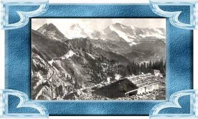 Interlaken v.1938 Schynige Platte mit .(10345)