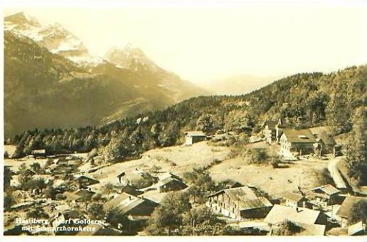Dorf Goldern v.1938 Dorfansicht (20975)