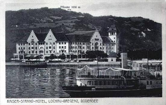 Lochau-Bregenz v.1929 Hotel & Schiff (2456A)