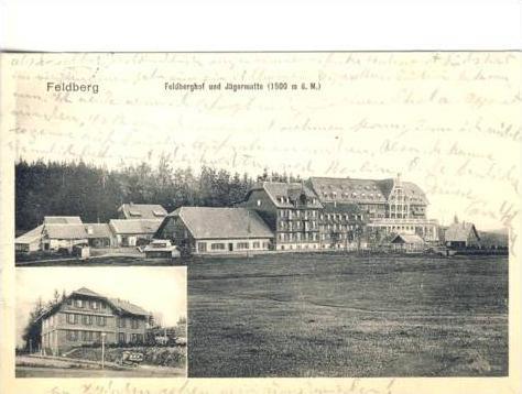 Feldberg v1912 Feldberghof und Jägermatte (35078)