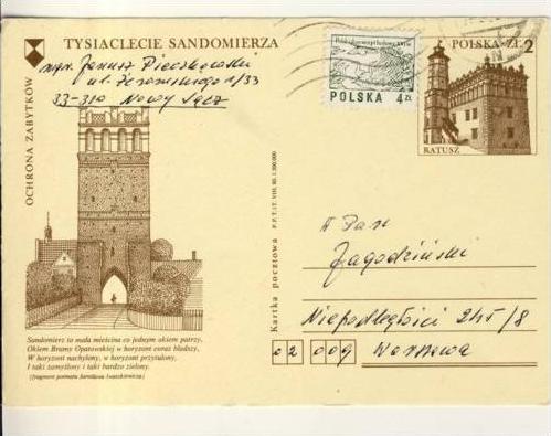 Tysiaclecie Sandomierza v1985 OCHRONA ZABYTKOW(35099)