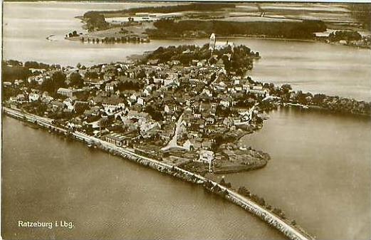 Ratzeburg v.1928 Stadtansicht (18380)