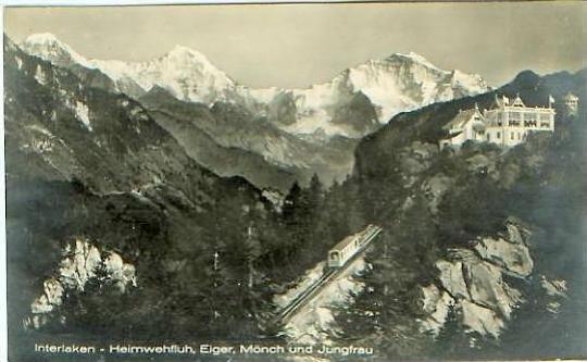 Interlaken v.1925 Heimwehfluh & BAHN (19999-14)