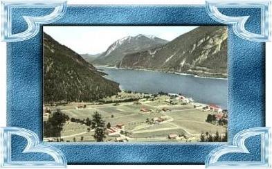 Pertisau v.1964 Dorf & Achensee (9882)